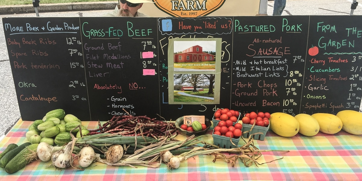 Inman Farmers' Market Photo