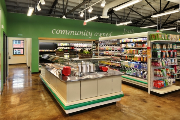 Hub City Co-op Grocery Store Photo